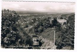 D-9864   KÖNIGSWINTER : Zahnradbahn Mit Blick Auf Lemmerzbad - Koenigswinter