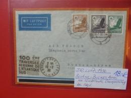 3eme REICH 1936 BERLIN-BUENOS AIRES POSTE AERIENNE - Lettres & Documents