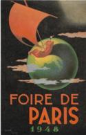 D75 - PARIS - FOIRE DE PARIS 1948 Illustrateur Kendall Taylor - Verso: Philatélie 16 Mai 48 Timbre Jamborée 1947 (scan) - France