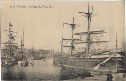 D13 - MARSEILLE - INTERIEUR DU VIEUX PORT - Beaux  Voiliers - Barques - PRECURSEUR - Vecchio Porto (Vieux-Port), Saint Victor, Le Panier
