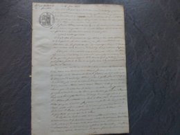 85 ARDELAY Les Herbiers 1835, Guet-appens De Réfractaires Contre Les Gendarmes, RARE ! 854 ; PAP09 - Documents Historiques
