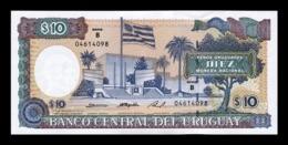 Uruguay 10 Pesos Uruguayos 1995 Pick 73Bb SC UNC - Uruguay