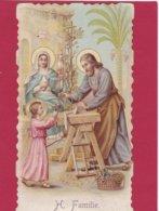 Devotieprent H. Familie - Devotion Images