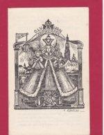 Bedevaartprent O.L.Vrouw Van Antwerpen - Devotion Images