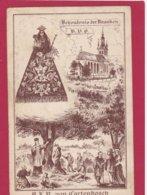 Bedevaartprent O.L.Vrouw Van Cortenbosch - Devotion Images