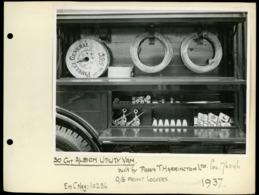 Original Photograph - 30 Cwt Albion Utility Van -  (U.K.) - 1937 (20 X 15.5cm) - Fotos