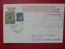 PAKISTAN Vers ALLEMAGNE 1959 - Pakistan