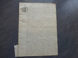 17 VILLEDOUX Andilly-les-Marais 1835 Procès  4 Ha De Marais, Seigneur D'Andilly 857 ; PAP09 - Historische Documenten