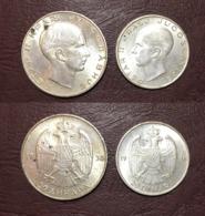 YOUGOSLAVIE - Pierre II - Lot 50 Et 20 DINARS - 1938 - Yugoslavia