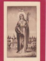 Devotieprent H. Aldegondis - Devotion Images