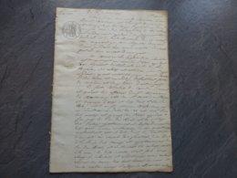 17 Ile De Ré Fier D'Ars 1835, Procès Propriété Village Des Mâts, Corps De Garde, Etc. Masseau Vs Abbé  858 ; PAP09 - Historische Documenten