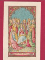 Neogotische Prent - Devotion Images