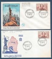 France - FDC - Premier Jour - Frédéric Auguste Bartholdi - Colmar - 1959 - 1950-1959