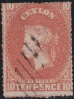 Ceylon    .    SG   .    34        .     O        .       Cancelled     .   /   .  Gebruikt - Ceylon (...-1947)