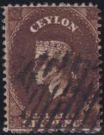 Ceylon    .    SG   .    41a       .     O        .       Cancelled     .   /   .  Gebruikt - Ceylon (...-1947)