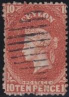 Ceylon    .    SG   .    38       .     O        .       Cancelled     .   /   .  Gebruikt - Ceylon (...-1947)