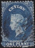 Ceylon    .    SG   .    63     .     O        .       Cancelled     .   /   .  Gebruikt - Ceylon (...-1947)