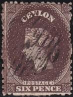Ceylon     .    SG   .     67b       .   O      .      Cancelled      .   /   .   Gebruikt - Ceylon (...-1947)