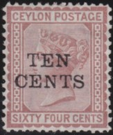 Ceylon     .    SG   .     174       .   (*)      .     No Gum      .   /   .   Geen Gom - Ceylon (...-1947)