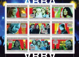 Guinea 2010 MNH - ABBA. YT 4786-4794, Mi 7409-7417 - Guinea (1958-...)