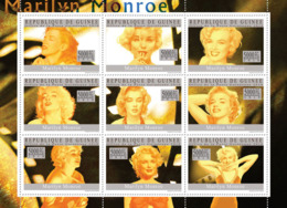 Guinea 2010 MNH - Marilyn Monroe. YT 4849-4857, Mi 7349-7357 - Guinea (1958-...)