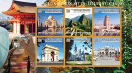 Guinea 2010 MNH - The Most Beautiful Tourist Cities. YT 4918-4923, Mi 7564-7569 - Guinea (1958-...)