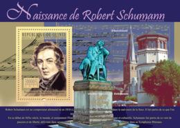 Guinea 2010 MNH - 200th Anniversary Of Birth Of Robert Shumann). YT 1132, Mi 7682/BL1848 - Guinea (1958-...)