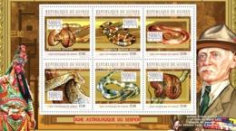 Guinea 2010 MNH - Astrological Sign Of The Snake. YT 5164-5169, Mi 7811-7816 - Guinea (1958-...)