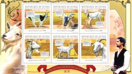 Guinea 2010 MNH - Astrological Sign Of The Goat. YT 5176-5181, Mi 7823-7828 - Guinea (1958-...)