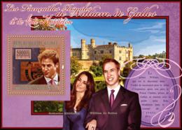 Guinea 2010 MNH - The Royal Engagement - Prince William & Kate Middleton (Windsor Castle). YT 1218, Mi 7979 - Guinea (1958-...)