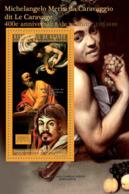 Guinea 2010 MNH - 400th Anniversary Of Death M.M. Da Caravaggio (1571-1610). YT 1182, Mi 7951/BL1887 - Guinée (1958-...)