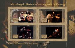 Guinea 2010 MNH - 400th Anniversary Of Death M.M. Da Caravaggio (1571-1610). YT 5356-5359, Mi 7947-7950 - Guinée (1958-...)