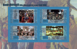 Guinea 2010 MNH - 400th Anniversary Of Death Sandro Botticeli (1445-1510). YT 5360-5363, Mi 7942-7945 - Guinea (1958-...)