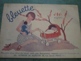 Catalogue/tarif Du Trousseau De BLEUETTE - ETE 1930 (12 Pages) - Dolls