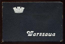 POLOGNE - VARSOVIE - ALBUM DE 48 VUES - SYNAGOGUE, RUES ANIMEES, ECT .... - Boeken, Tijdschriften, Stripverhalen