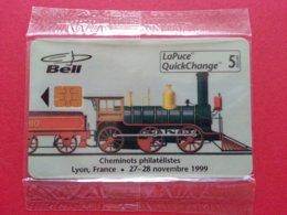 BELL CANADA B30338 Train Vapeur 1300 Ex Cheminot Lyon 1999 Pas TGV  - MINT NSB (BA1019C - Canada