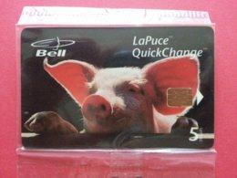 BELL CANADA B30082 Cochon Porc Truie  - MINT NSB (BA1019C - Canada
