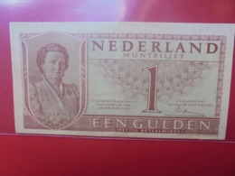 PAYS-BAS 1 GULDEN 1949 BONNE QUALITE CIRCULER - [2] 1815-… : Koninkrijk Der Verenigde Nederlanden