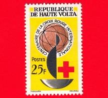 ALTO VOLTA - Nuovo - 1963 - Centenario Della Croce Rossa Internazionale - Red Cross - 25 - Alto Volta (1958-1984)
