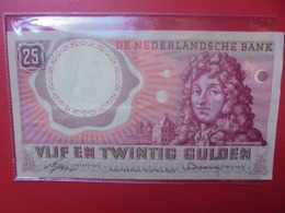 PAYS-BAS 25 GULDEN 1955 BELLE QUALITE CIRCULER - [2] 1815-… : Koninkrijk Der Verenigde Nederlanden