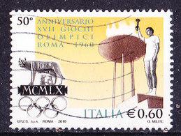 Italia 2010-Olimpiadi Roma -Usato - 2001-10: Oblitérés