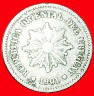 + GERMANY (1901-1941): URUGUAY ★ 5 CENTESIMOS 1901! LOW START ★ NO RESERVE! - Uruguay