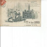 77-CHARNY LE RUSTIQUE ODELIN Carte PublicitaireEN VENTE CHEZ ALBERT SONNIER RARE - Francia