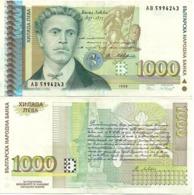 Bulgaria - 1000 Leva 1996 VF Lemberg-Zp - Bulgaria