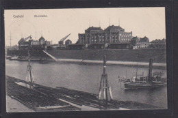 A29x /     Krefeld Hafen 1912 - Krefeld