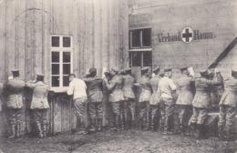AK Ein Gruß Aus Feindesland - Deutsche Soldaten B Briefschreiben - Verbandsplatz - Feldpost Inf Regt 351 - 1916 (44603) - Guerra 1914-18