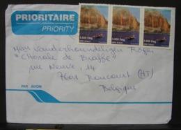 LetDoc. 306. Lettre Envoyée De Madagacar Vers La Belgique 3 X 1863 Y&T Nosy Mitsio - Madagascar (1960-...)