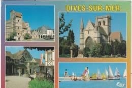 Calvados :  DIVES  Sur  MER : Vues  1994 - Dives