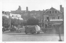 WW2 Krieg : 3 Photos Originales Mai 40 : LAON ( France ) Dont Hôtel Du Commerce - 1939-45
