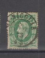 COB 30 Oblitération Centrale Double Cercle ST-NICOLAS +2 - 1869-1883 Léopold II